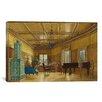 iCanvas Fine Art 'The Music Room of Archduchess Margarete' by Heinrich Von Forster Painting Print on Canvas
