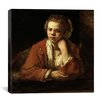 "iCanvas ""The Kitchen Maid"" Canvas Wall Art by Rembrandt"