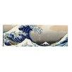 iCanvas 'The Great Wave at Kanagawa 1829' Panoramic by Katsushika Hokusai Painting Print on Canvas