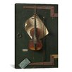 iCanvas 'The Old Violin' by William Michael Harnett Photographic Print on Canvas