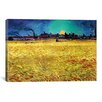 iCanvas 'Sommerabend' by Vincent Van Gogh Painting Print on Canvas