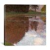"iCanvas ""Tranquil Pond Egelsee Near Golling, Salzburg"" Canvas Wall Art by Gustav Klimt"