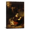 iCanvas 'The Holy Family with Angels' by Rembrandt Painting Print on Wrapped Canvas