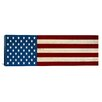 iCanvas Flags U.S.A. - Graphic Art on Wrapped Canvas