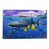 "iCanvas ""Shark / Dolphin"" Canvas Wall Art by Lorenzo Tempesta"