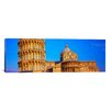 iCanvas Panoramic Leaning Tower of Pisa, Piazza Dei Miracoli, Pisa, Tuscany, Italy Photographic Print on Canvas