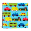 "iCanvas ""Traffic (Cars)"" by Daniela Bruni Graphic Art on Wrapped Canvas"