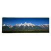 iCanvas Panoramic Teton Point Turnout, Teton Range, Grand Teton National Park, Wyoming Photographic Print on Canvas