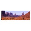 iCanvas Panoramic View to Northwest from 1st Marker in the Valley, Monument Valley, Arizona Photographic Print on Wrapped Canvas