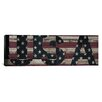 iCanvas Flags U.S.A. Stars Wood Boards Graphic Art on Canvas