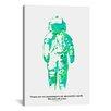 iCanvas 'Spaceship Canvas' by Budi Satria Kwan Graphic Art on Canvas