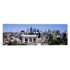 iCanvas Panoramic Union Station with City skyline in Background, Kansas City, Missouri Photographic Print on Wrapped Canvas