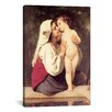 iCanvas 'The Kiss (Le Baiser)' by William-Adolphe Bouguereau Painting Print on Canvas