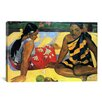 iCanvas 'Two Women Sitting' by Paul Gauguin Painting Print on Canvas