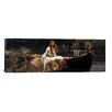iCanvas 'The Lady of Shalott' by John William Waterhouse Painting Print on Canvas