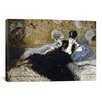 iCanvas 'The Lady with Fans (Nina de Callias)' by Edouard Manet Painting Print on Canvas