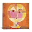 iCanvas 'Senecio' by Paul Klee Painting Print on Canvas