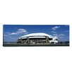 iCanvas Panoramic Texas Stadium Photographic Print on Wrapped Canvas