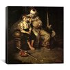 iCanvas 'The Runaway (Runaway Boy and Clown)' by Norman Rockwell Painting Print on Canvas