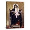 iCanvas 'The Seated Madonna (Madone Assise)' by William-Adolphe Bouguereau Painting Print on Wrapped Canvas