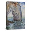 iCanvas 'The Manneporte Near Etretat 1886' by Claude Monet Painting Print on Wrapped Canvas