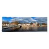 iCanvas Panoramic The Millenium Foot Bridge over the River Lee, Cork City, Ireland Photographic Print on Wrapped Canvas