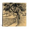 "iCanvas ""Tree in the Cornfield"" by August Macke Painting Print on Wrapped Canvas"