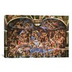 iCanvas 'Sistine Chapel: The Last Judgement' by Michelangelo Buonarroti Painting Print on Wrapped Canvas