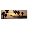 iCanvas Panoramic San Clemente Pier, Los Angeles County, California Photographic Print on Canvas