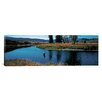 iCanvas Panoramic Trout Fisherman Slough Creek Yellowstone National Park, Wyoming Photographic Print on Wrapped Canvas