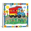 "iCanvas ""Truck"" by Cheryl Piperberg Graphic Art on Wrapped Canvas"