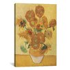 iCanvas 'Sunflowers 1888' by Vincent Van Gogh Painting Print on Wrapped Canvas