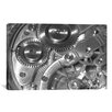 iCanvas Watch Mechanism Photographic Print on Wrapped Canvas