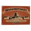 iCanvas 'Washington, D.C' by Anderson Design Group Vintage Advertisment on Canvas