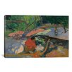 iCanvas 'Te Poipoi (Le Matin) 1892' by Paul Gauguin Painting Print on Wrapped Canvas