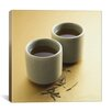 iCanvas Food and Cuisine Tea Cups Photographic Print on Wrapped Canvas
