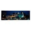 iCanvas Panoramic Temple Lit up at Night, Mormon Temple, Salt Lake City, Utah Photographic Print on Canvas