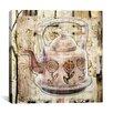 iCanvas 'Tea Pot' by Luz Graphics Graphic Art on Canvas