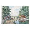 """iCanvas """"Summertime: Morris Canal"""" by Stanton Manolakas Painting Print on Wrapped Canvas"""