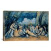 iCanvas 'The Bathers' by Paul Cezanne Painting Print on Wrapped Canvas
