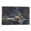 iCanvas 'The Adirondack Guide 1894' by Winslow Homer Painting Print on Canvas