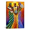 iCanvas Sisters of the Sun by Keith Mallett Graphic Art on Canvas