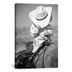 """iCanvas """"True Cowgirl"""" by Dan Ballard Photographic Print on Wrapped Canvas"""