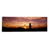 iCanvas Panoramic Tahai Archaeological Site, Rano Raraku, Easter Island, Chile Photographic Print on Wrapped Canvas