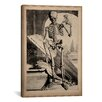 iCanvas 'Skeletal Anatomy' by Govard Bidloo Graphic Art on Wrapped Canvas