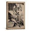 iCanvas 'Skeletal Anatomy' by Govard Bidloo Painting Print on Canvas