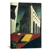 """iCanvas """"Turin Spring"""" by Giorgio de Chirico Painting Print on Wrapped Canvas"""