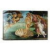 iCanvas The Birth of Venus by Botticelli Sandro Painting Print on Canvas