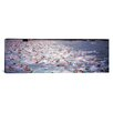 iCanvas Panoramic Triathlon Athletes Swimming in Water in a Race, Ironman, Kailua Kona, Hawaii Photographic Print on Canvas