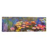 "iCanvas ""Water Lilies"" by Claude Monet Painting Print on Canvas"